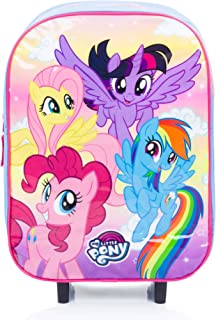 My Little Pony Kids Luggage Trolley Backpack