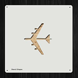 B-52 Bomber B-52-bomber Aircraft NATO Military Bomber Plastic Mylar Stencil for Painting, Walls and Crafts, Item 25977