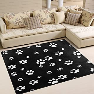 Best paw print area rug Reviews