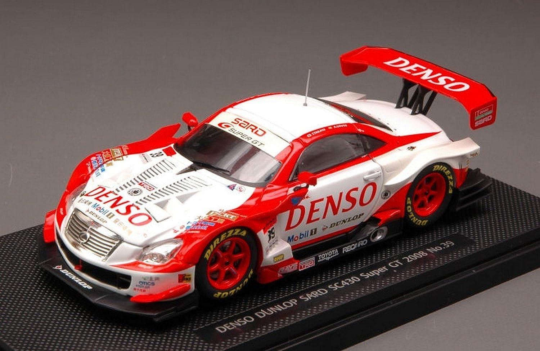 EB44058 LEXUS SC430 N.39 DENSO DUNLOP SARD SUPER GT08 1 43 MODELLINO DIE CAST