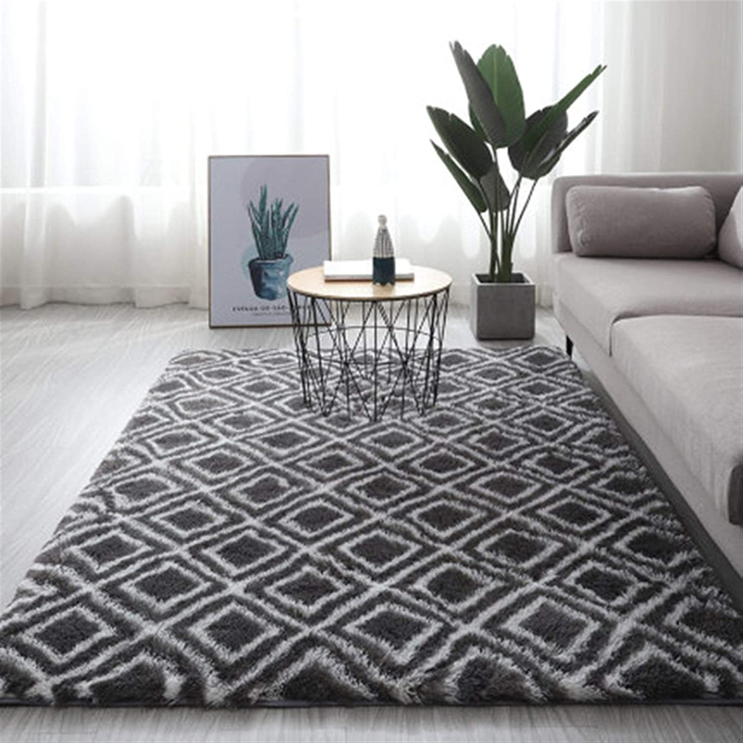 Max 69% OFF IOPV Grey Carpet Tie Dyeing Plush Carpets Soft Living Clearance SALE Limited time Room B for