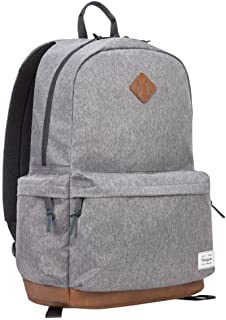 Targus Strata II College and Travel Laptop Backpack with Protective Sleeve for 15.6-Inch Laptop, Gray/Charcoal (TSB93604GL)