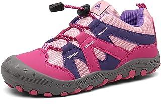 أحذية Mishansha بنين بنات رياضية المشي لمسافات طويلة مضادة للتضادم عدم الانزلاق المشي في الهواء الطلق الجري أحذية رياضية