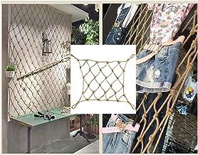 Touwnet, multifunctionele decoratie bindende veranda netto hek achtergrond wanddecoratie net (diameter 8mm, raster 10cm),4x4m