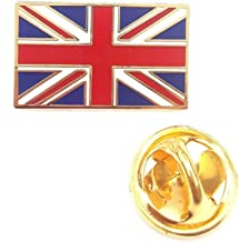 UNION JACK QUALITY ENAMEL LAPEL PIN BADGE