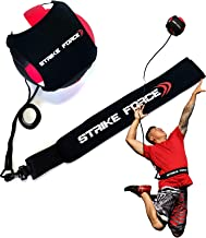 Volleyball Training Aid - Practice Equipment Aids Serving, Spiking, Setting, Arm Strength - Solo Vollyball Pal - by Strike...