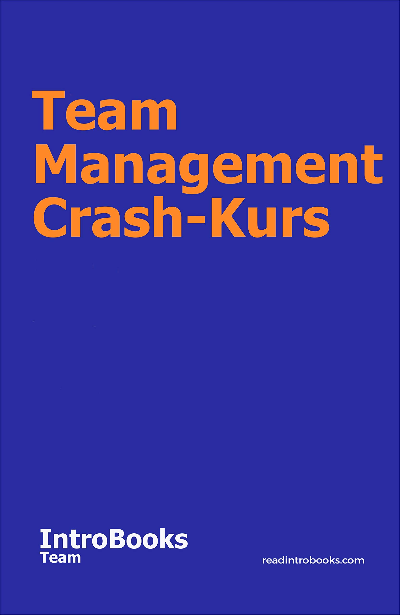 Team Management Crash-Kurs (German Edition)