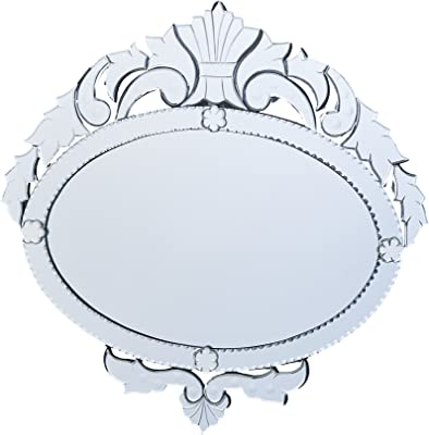 Venetian Design Wall Mirror VDS-01 Size 28x27 Inches Silver Colour