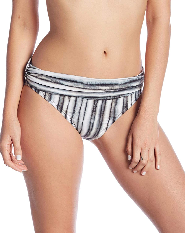 La Blanca Womens Hipster Fold Over Bikini Swim Bottom