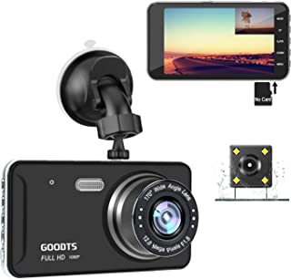 GOODTS Dual Dash Cam Front and Rear 4