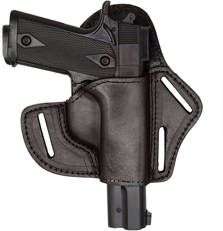 Back 国内即発送 Country Leather Pistol Holster-Fits All - Gun 1911 B Models 1年保証