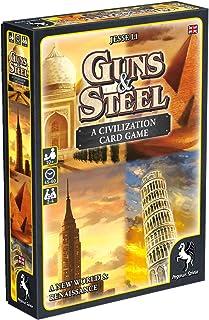 Pegasus Spiele 18286E – Guns und Steel, A Story of Civilization (English Edition)
