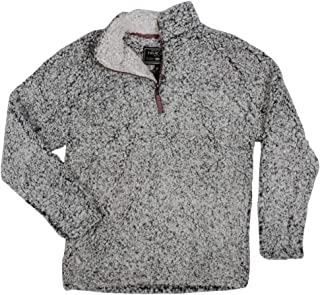 Men's Frosty Tipped Pile 1/4 Zip Pullover
