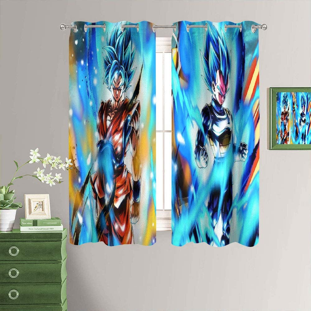 Anime Curtains Thermal unisex Insulated Curtain Insulat Philadelphia Mall Printed