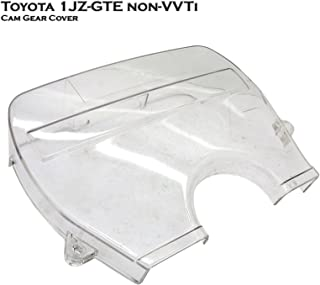 Transparent Clear Cam Timing Belt Cover Fits For Toyota Supra JZA70 Toyota Soarer JZZ30 Toyota Chaser Cresta Mark II JZX81 JZX90 1JZ-GTE
