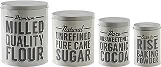 Mason Cash Baker Street Baking Storage Tins, Set of 4