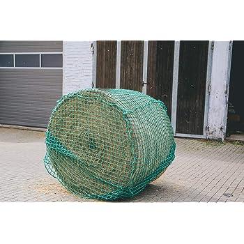 Heunetz 4,5cm Maschen Futtersparnetz *Kerbl* NEU Rundballen-Netz 150x150cm