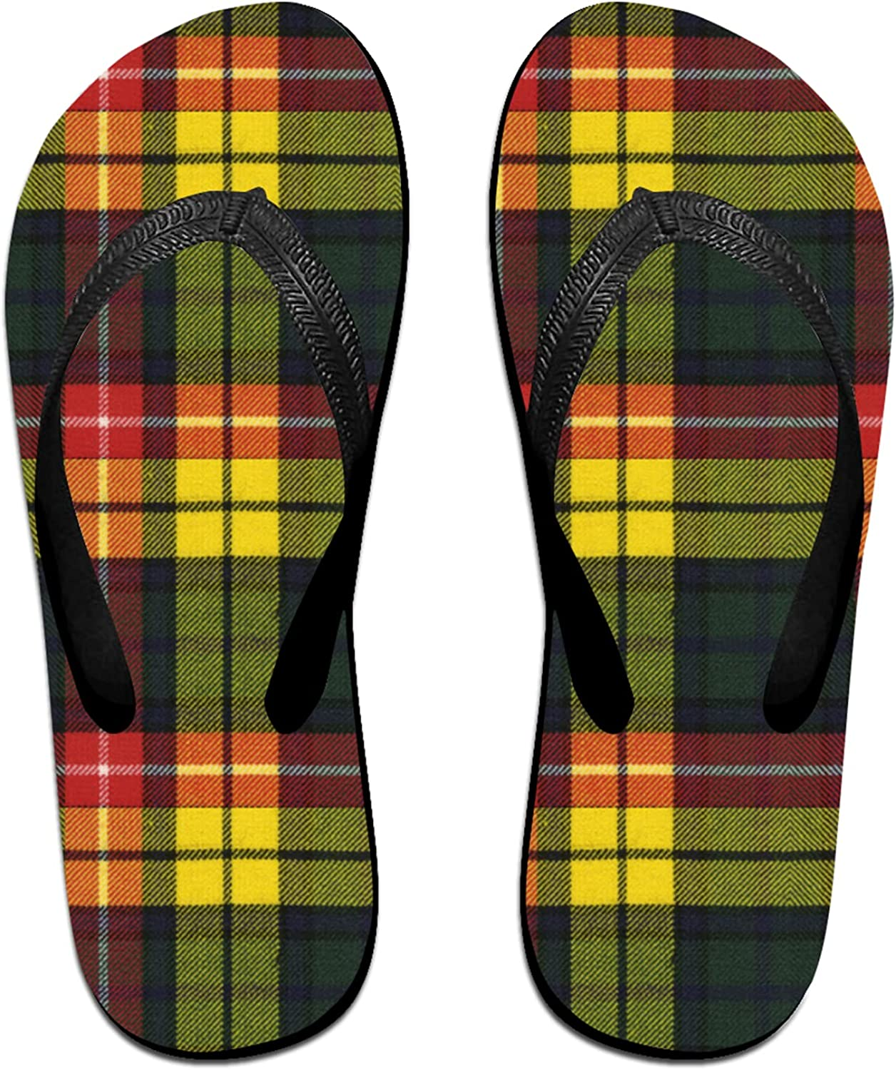 Women's Men's Flip Flop Slippers Super beauty product restock quality top! Buchanan Scot Limited time for free shipping Original Modern