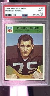 1966 Philadelphia #85 Forrest Gregg Green Bay Packers NM+ PSA 7.5 Graded Card