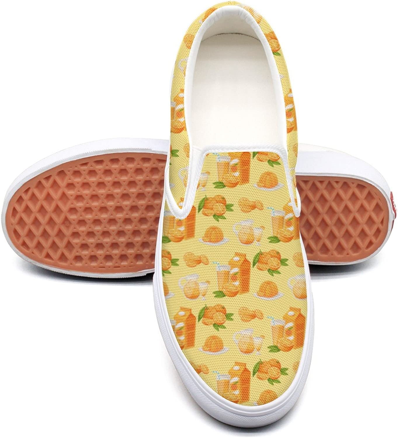 Hjkggd fgfds Casual Annoying orange Juice Women's Canvas shoes