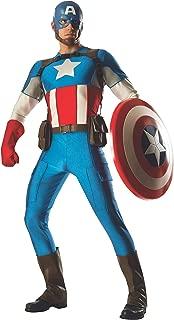Rubie's Costume Co Men's Marvel Universe Grand Heritage Captain America Costume