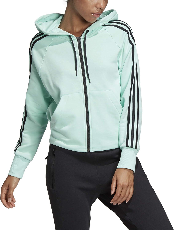 Adidas Damen Must Haves Haves Haves 3-Stripes French Terry Full Zip Hooded Trainingsanzug Jacke B07KTW84JJ  Modernes Design 1091bb