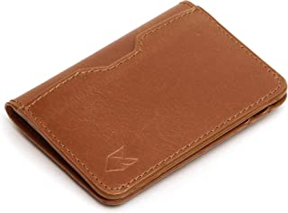 FOXHACKLE Leather Credit Card Wallet for Men and Women, Thin Bifold RFID Blocking Wallet, Slim Front Pocket Minimalist Car...