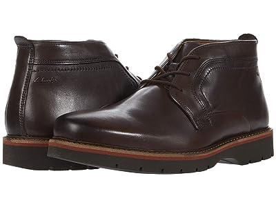 Clarks Bayhill Mid (Dark Brown Leather) Men