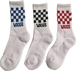 Kids Crew White Checkerboard Socks- 3 pairs...