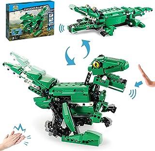 QLT Dinosaur Building Kits Toys (450 Pcs), Compatible...