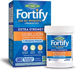 Best nature's way fortify age 50+ probiotic Reviews