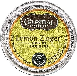 Celestial Seasonings Keurig Lemon Zinger Tea K-Cups 24 Ct