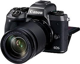 Canon EOS M5 + EF-M 18-150mm f/3.5-6.3 IS STM Lens, Black