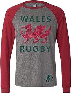 Wales Rugby LS Raglan T-Shirt