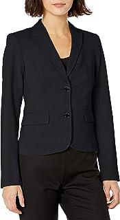 Calvin Klein Women's Two Button Lux Blazer (Petite, Standard, & Plus)