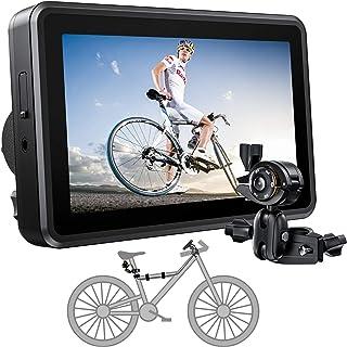 FEISIKE Handlebar Bike Mirror, Bicycle Mirror with 4.3''...