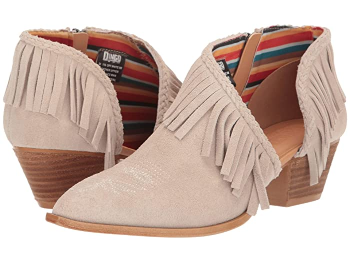 Dingo Kindred Spirit Fringe Ankle Boots
