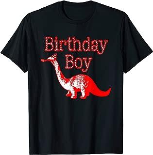 Dinosaur Birthday Boy T-Shirt