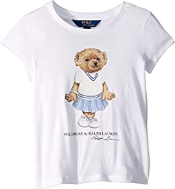 Cricket Bear Cotton Tee (Little Kids)