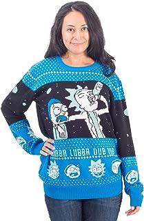 wubba lubba dub dub christmas sweater