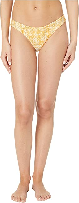 Solid Beach Classics Regular High Leg Bottoms