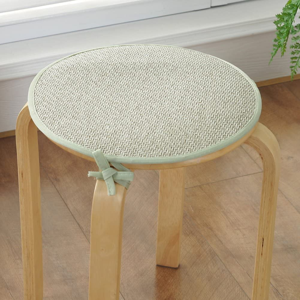 Round Dining Chair 4 years warranty Pad with Ties Foam Max 73% OFF Anti-Slip Kitchen Pa