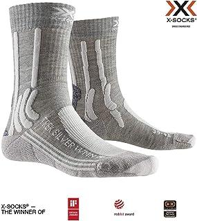 Trek Silver Women Socks, Mujer