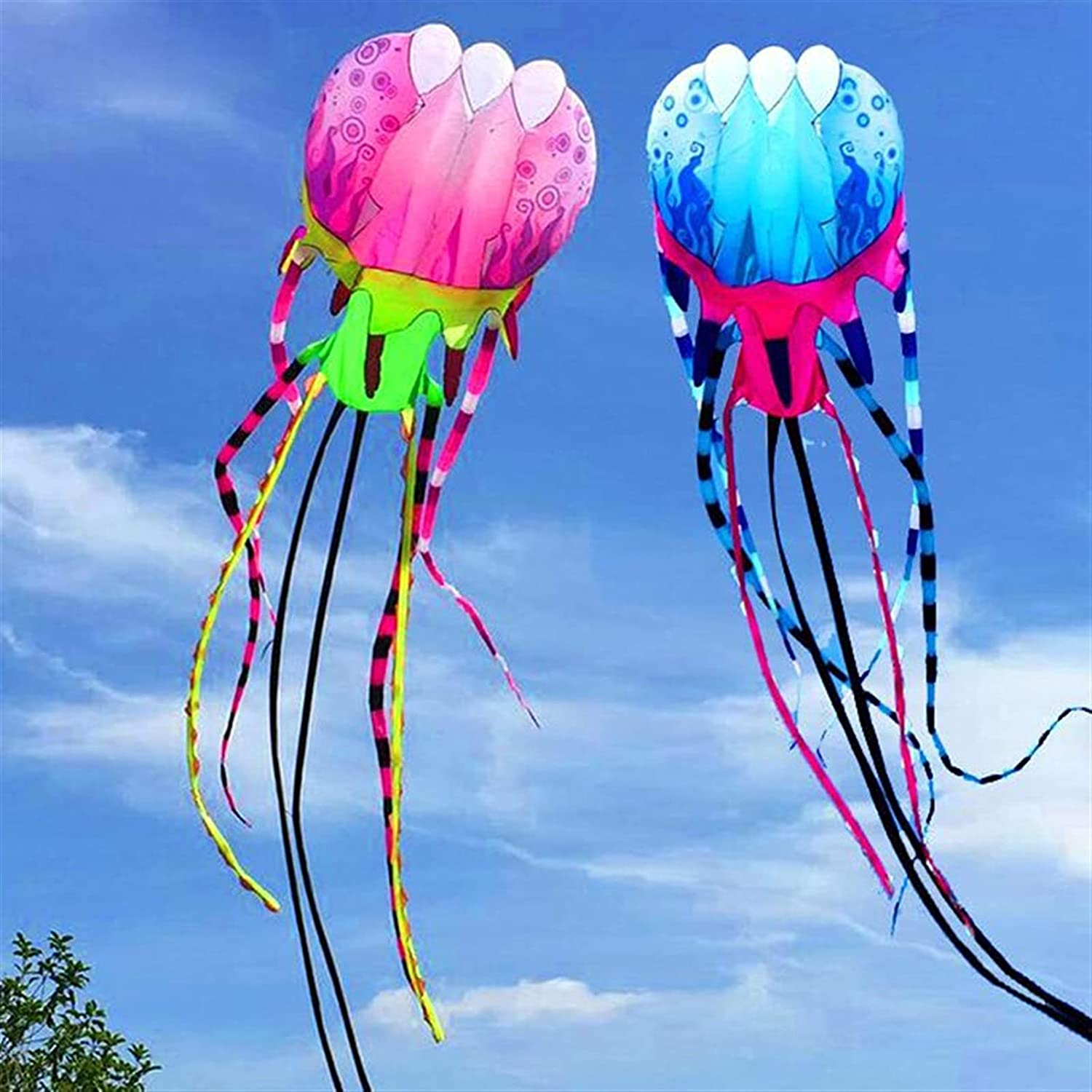 YSJJVDS Kites 2021 autumn and winter new Large Jellyfish Kite Soft for Fly Adults Max 69% OFF Reel
