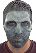 Ice King Half Face Foam Latex Prosthetic Halloween Costume Accessory Grey