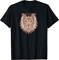 African Painted Lion T-shirt