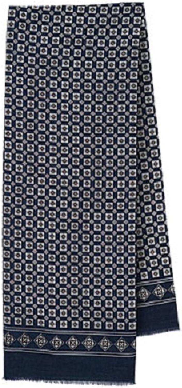 Men's Pavlovo Posad Scarf Russian Tie 100% Merino Wool 756-1