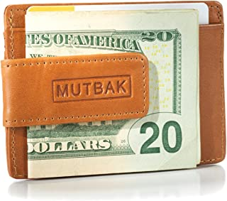Bunker - Front Pocket Magnetic Money Clip Wallet with RFID/NFC Blocking