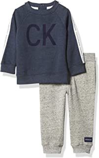 Calvin Klein Baby Boys' 2 Pieces Pants Set
