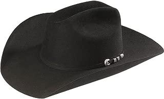 Men's 6X Bar None Fur Felt Western Hat - Sfbnoe-944207 Black